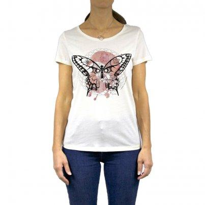 T-Shirt Donna Farfalla Taglia XL