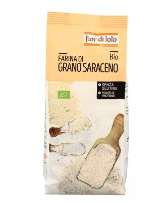 Farina di Grano Saraceno Bio Senza Glutine