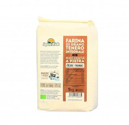 Farina di Grano Tenero Italiano Integrale