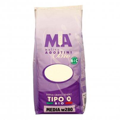 """Farina di Grano Tenero """"Tipo 0"""" Media w280"""