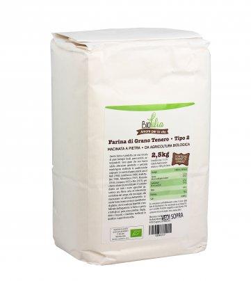 Farina di Grano Tenero Tipo 2 2,5 kg