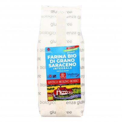 Farina Integrale di Grano Saraceno Bio - Senza Glutine