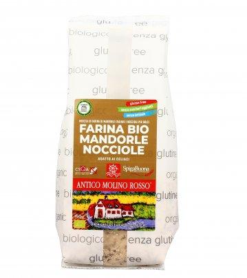 Farina Bio Mandorle e Nocciole - Senza Glutine