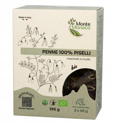 Penne 100% Farina di Piselli - Senza Glutine
