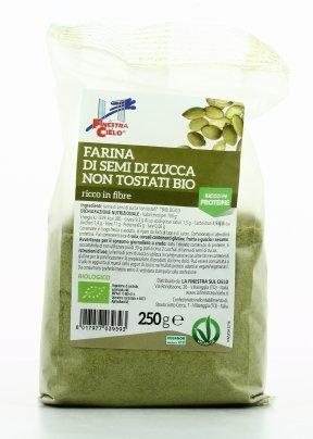 Farina di Semi di Zucca Non Tostati Bio