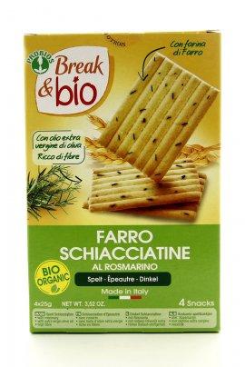 Break & Bio - Schiacciatine di Farro al Rosmarino