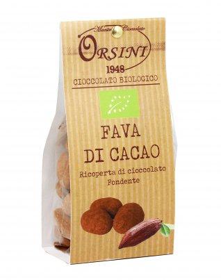 Fava di Cacao Ricoperta al Cioccolato Fondente