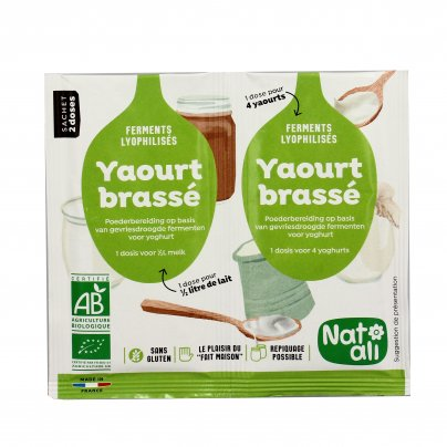 Fermenti Attivi per Yogurt Cremoso Bio