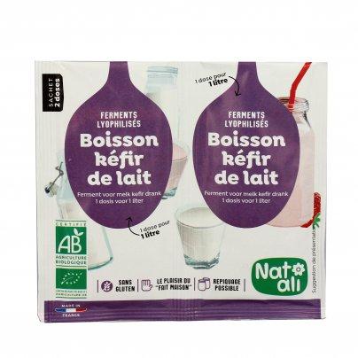 Fermenti Attivi per Kefir di Latte Bio