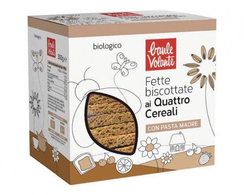 Fette Biscottate ai 4 Cereali Bio