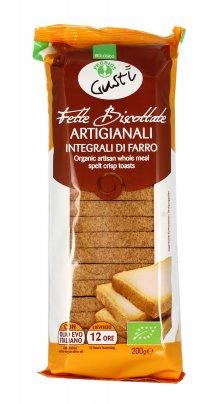 Fette Biscottate di Farro - BioGustì