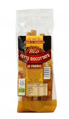 Fette Biscottate di Farro Bio