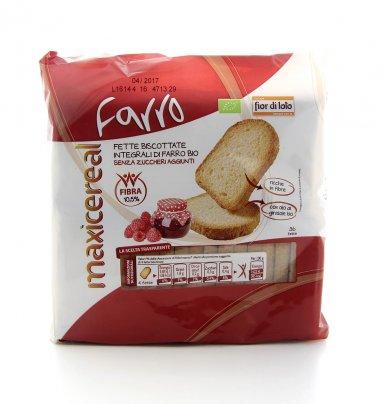 Fette Biscottate Integrali di Farro Bio
