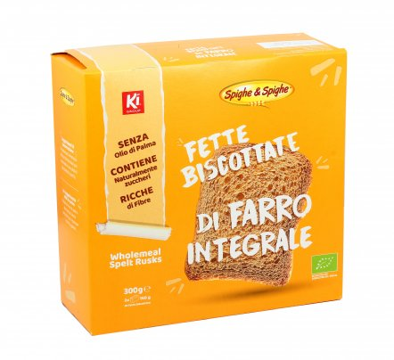 Fette Biscottate di Farro