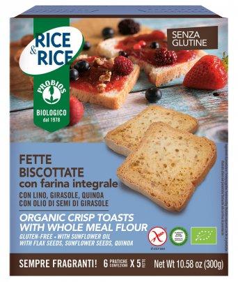 Fette Biscottate con Farina Integrale - Rice & Rice