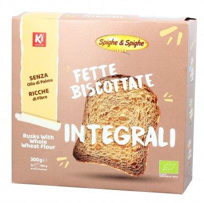 Fette Biscottate Integrali Biologiche
