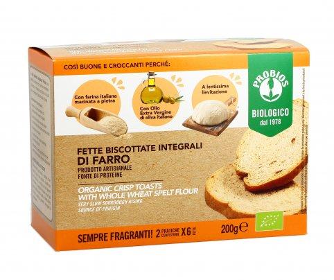 Fette Biscottate Integrali di Farro