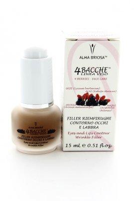 Filler Riempirughe 4 Bacche Contorno Occhi e Labbra - 15 ml.