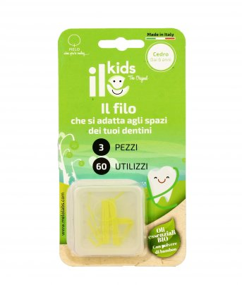 Filo Interdentale per Bambini - ILo Kids Cedro