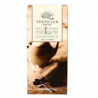 Filtri Carta per Infusi e Tè Sfusi 100 filtri (Taglia 3) - per teiera
