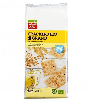 Crackers di Grano Bio Senza Lievito