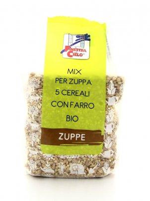 Mix per Zuppa 5 Cereali con Farro