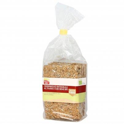 Crispbread Integrali al Farro ai Semi Bio