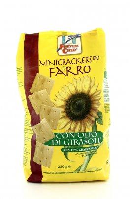Minicracker di Farro con Olio di Girasole Bio