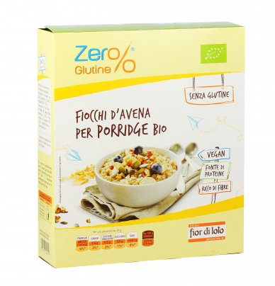 Fiocchi d'Avena Bio per Porridge - Senza Glutine