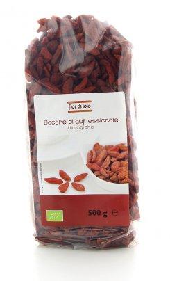 Bacche Goji Essiccate Biologiche 500 Gr