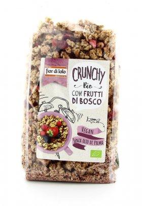 Crunchy con Avena e Frutti di Bosco