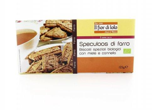 Speculoos di Farro Bio - Biscotti Speziati Miele e Cannella