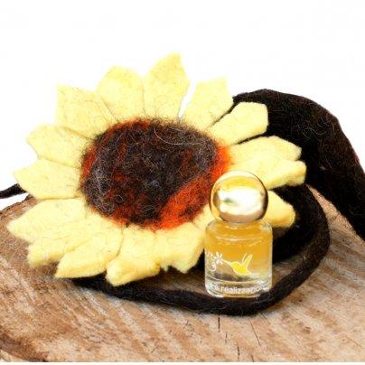 Fiore di Feltro Giallo con Nettare di Luce - Potere Personale e Realizzazione