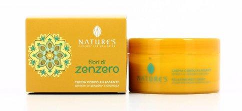Crema Corpo Rilassante - Fiori Di Zenzero 200 ml
