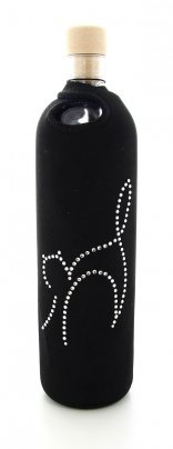 Bottiglia Vetro Programmato Flaska - Crystal Cat