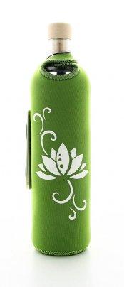 Bottiglia Vetro Programmato Design Lotus 500 ml