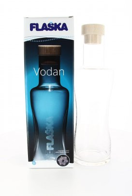 Bottiglia Vetro Programmato Flaska - Jug Vodan - 1Litro