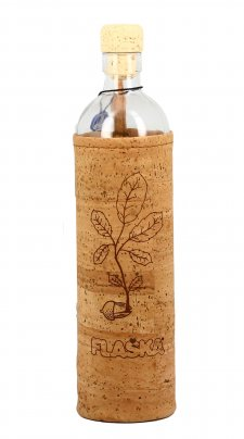 "Bottiglia Vetro Programmato Natural Cork ""The New Beginning"""