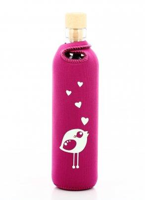 Bottiglia Vetro Programmato Neo Design Birdy 300 ml