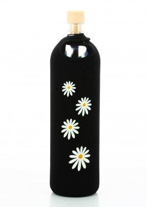 Bottiglia Vetro Programmato Neo Design Daisies 750 ml