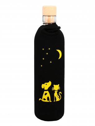 Bottiglia Vetro Programmato Neo Design Moonlight