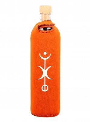 Bottiglia Vetro Programmato - Spiritual Success 500 ml (cover arancione)