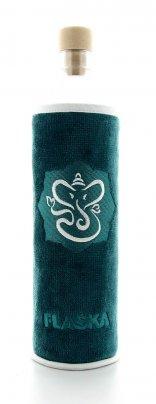 Bottiglia Vetro Programmato Flaska - Spiritual Ganesha 0.5 L