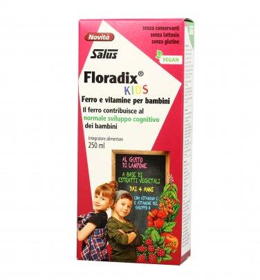 Floradix Kids - Ferro e Vitamine per Bambini (dai 4 anni)