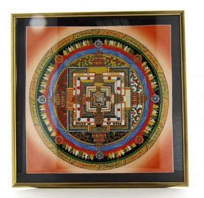 Quadro con Mandala Tibetani