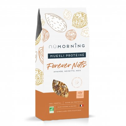 "Muesli Bio Proteico Nocciole, Noci e Mandorle ""Forever Nuts"""