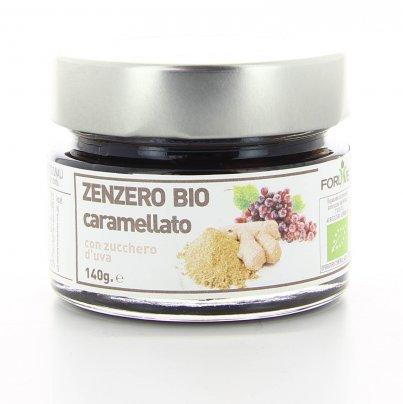 Zenzero Caramellato Sciroppato Bio