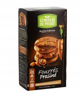 Biscotti con Nocciole, Mandorle e Gocce di Cioccolato - Fourrés Praliné