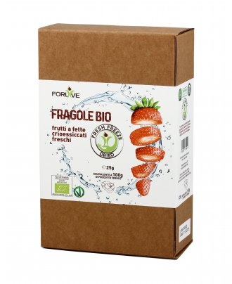 Fragole Bio - Fresh Freeze Dried