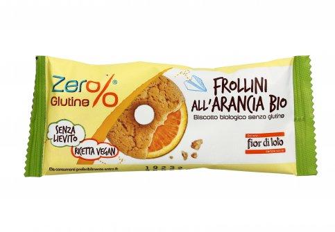Frollini all'Arancia Bio - Zero Glutine Monodose (30 gr.)